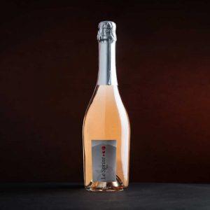 Vin pétillant, cuvée Le Sprint du Domaine la Croix des Pins à Mazan