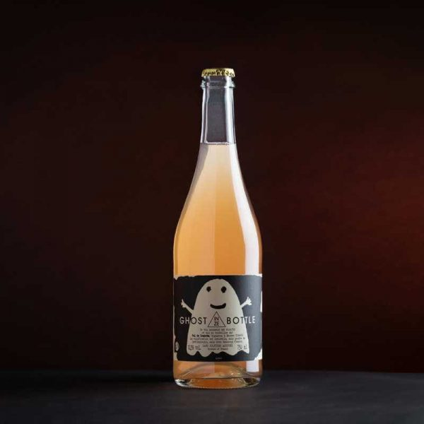 Vin de france pétillant rosé Ghost in ze bottle du domaine Val de Combrès à Maubec