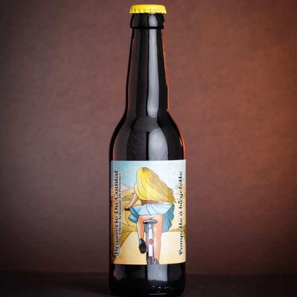 Bière Blonde Cuvée Pompette à bicyclette de la Brasserie du Comtat