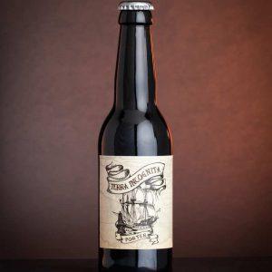 Terra incognita, bière noire exceptionnelle de la Brasserie indépendante du Lapin Blanc à Carpentras (84 - Vaucluse)