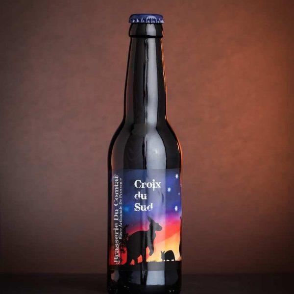 la brasserie du Comtat à Malemort-du-comtat vous propose une bière exceptionnelle blonde Double IPA La Croix du sud