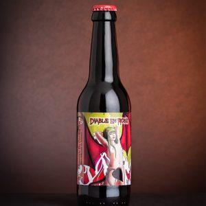 Diable en rose - Bière blonde IPA