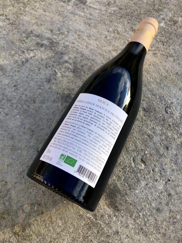 Silica 2018 château Pesquié contre étiquette